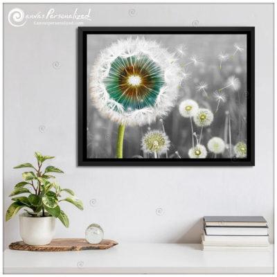Canvas-Personalized-Gorgeous-Dandelion-Canvas-Print-Wall-Art