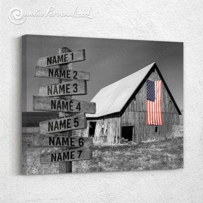 rustic barn art