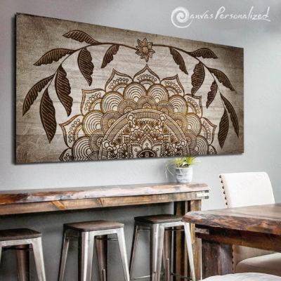Canvaspersonalized-Canvas-For-Home-Wall-Decor-Rustic-Modern-Boho-Style-Wall-Art-Farmhouse-Wall-Decor