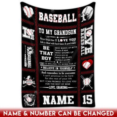 baseball gifts for boys blanket