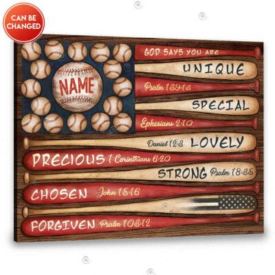 custom baseball gift