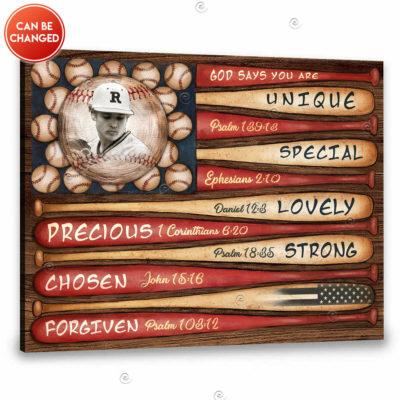 personalized baseball gift